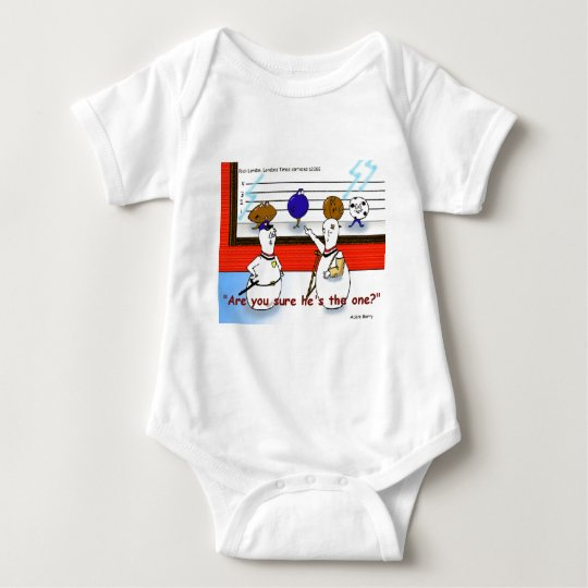 Bowling Ball Crimes Funny Gifts & Collectibles Baby Bodysuit