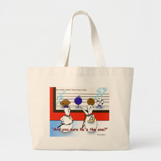 Bowling Ball Crimes Funny Gifts & Collectibles Large Tote Bag