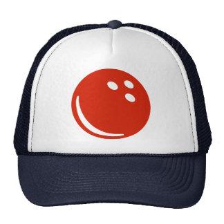 Bowling ball mesh hat