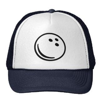 Bowling ball hats