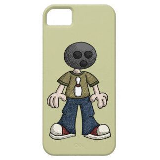 Bowling Ball Head iPhone 5 Cases