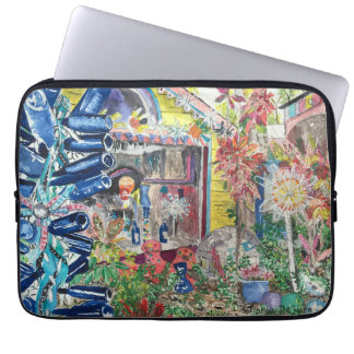"""Bowling Ball House 13"""" Laptop Sleeve"""