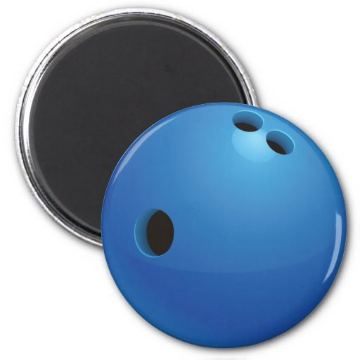 Bowling Ball Magnet