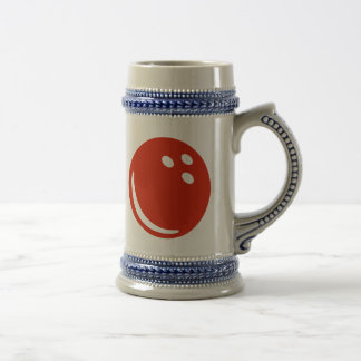 Bowling ball mug