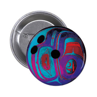 Bowling Ball Pinback Button