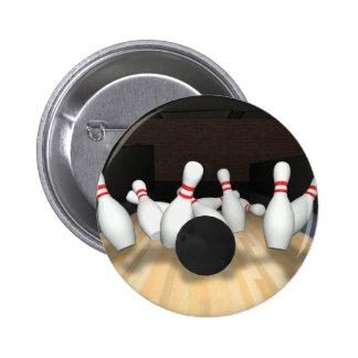 Bowling Ball & Pins: 3D Model: