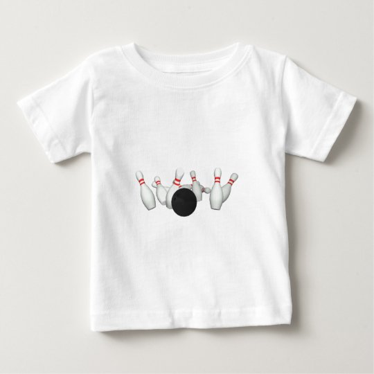 Bowling Ball & Pins: 3D Model: Baby T-Shirt