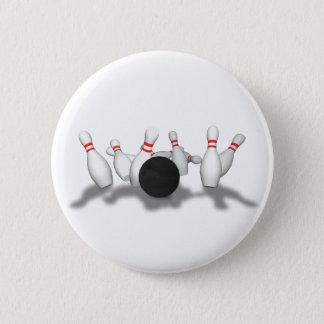 Bowling Ball & Pins: 3D Model: Button