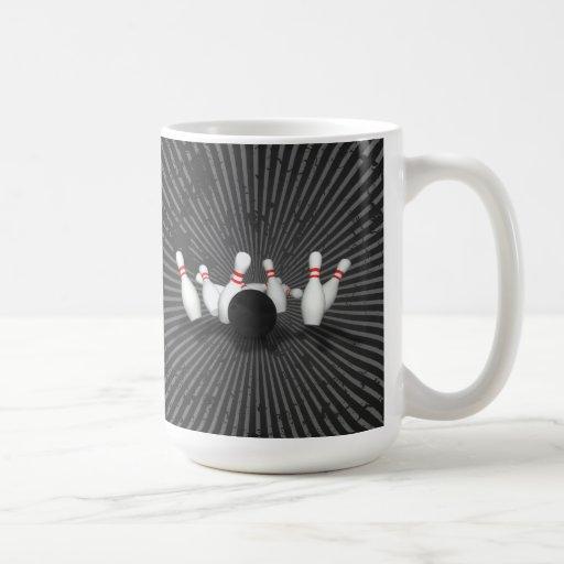 Bowling Ball & Pins: 3D Model: Coffee Mug