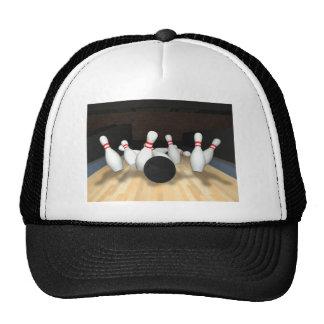 Bowling Ball & Pins: 3D Model: Trucker Hat