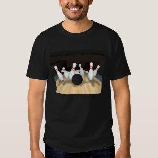Bowling Ball & Pins: 3D Model: T-Shirt
