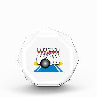Bowling Ball & Pins Award