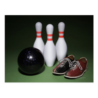 Bowling Ball Postcard