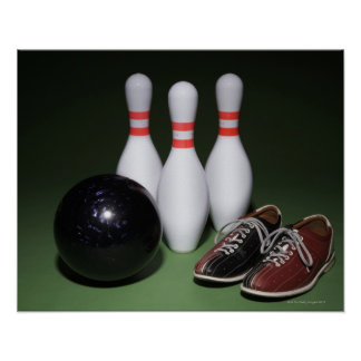 Bowling Ball Poster