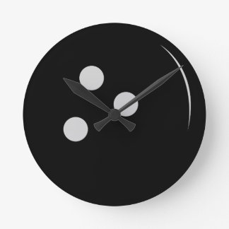 Bowling Ball Round Clock