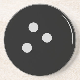 Bowling Ball Sandstone Coaster