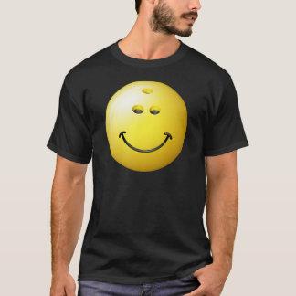 Bowling Ball Smiley Face T-Shirt