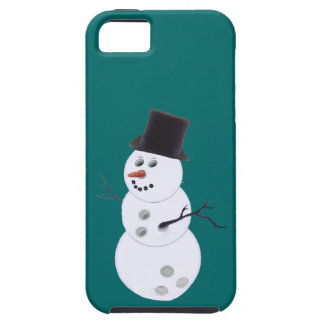 Bowling Ball Snowman iPhone SE/5/5s Case