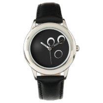 bowling ball sports design wrist watch
