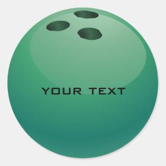 Bowling Ball Sticker