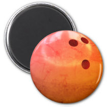 Bowling Ball Team Magnet
