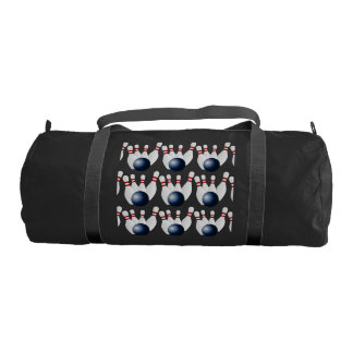Bowling Ball Team Player Exercise Fitness Train Gym Duffle Bag