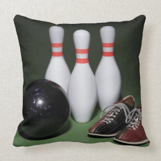 Bowling Ball Throw Pillow