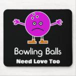 Bowling Balls Mouse Pad