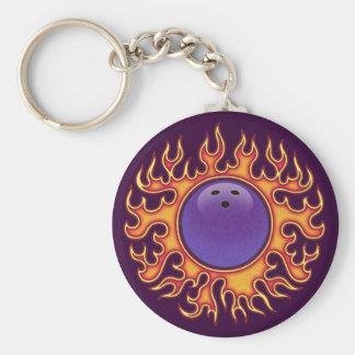 Bowling Balls-o-Fire Keychain