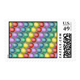 BOWLING BALLS POSTAGE STAMPS