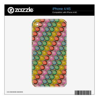 BOWLING BALLS TECH DESIGN SKIN FOR iPhone 4