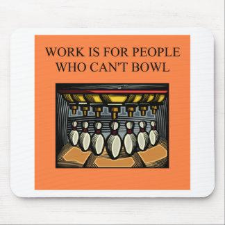 bowling beats work mouse pad