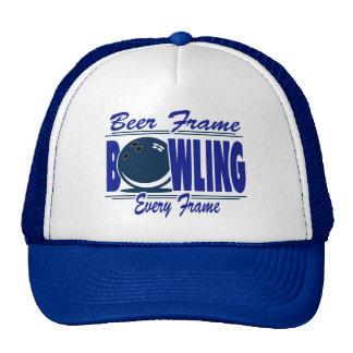 Bowling Beer Frame Every Frame Trucker Hat