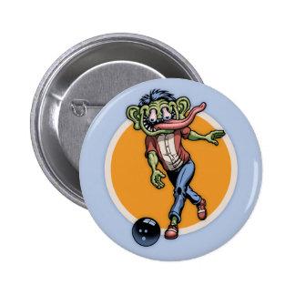 Bowling Benny Pinback Button
