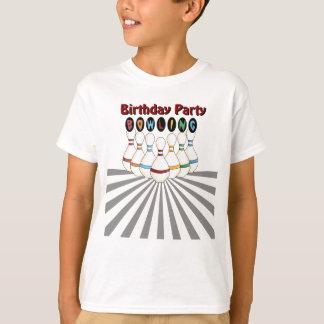 Bowling Birthday Party Shirt
