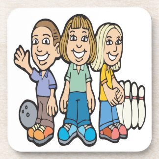 Bowling Buddies Coaster