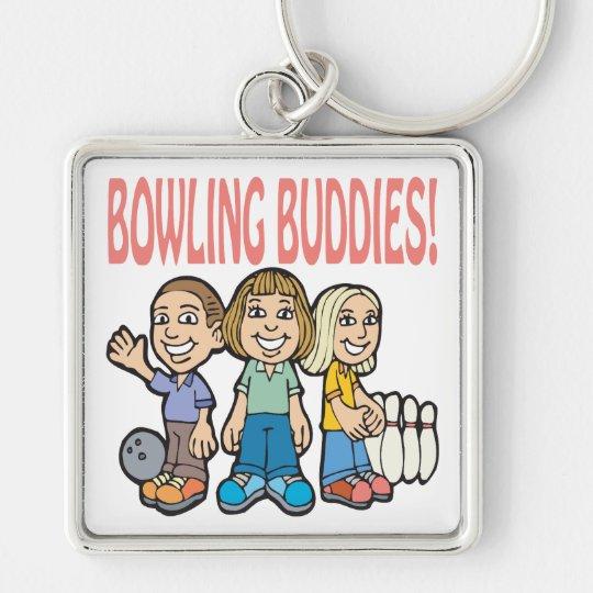 Bowling Buddies Keychain