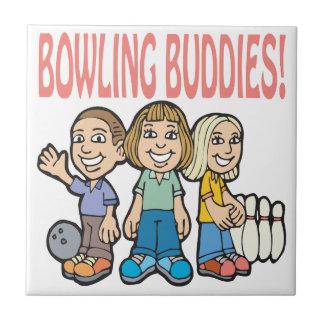 Bowling Buddies Ceramic Tile