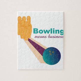 Bowling Business Jigsaw Puzzle