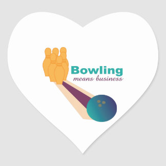 Bowling Business Stickers