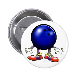 Bowling 2 Inch Round Button