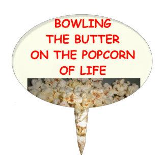 bowling cake topper