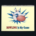 """Bowling Calendar<br><div class=""""desc"""">The perfect calendar for Bowling enthusiasts!</div>"""