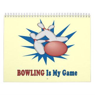 Bowling Calendar