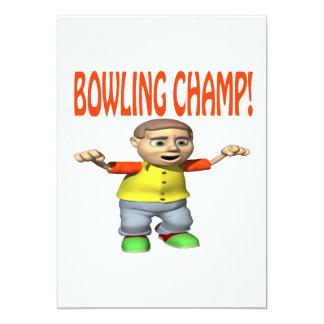 Bowling Champ Card