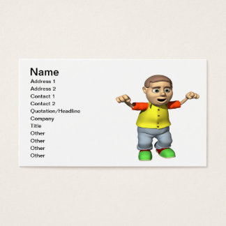 Bowling Champion Business Card