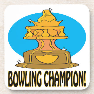 Bowling Champion Drink Coasters