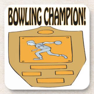 Bowling Champion Coasters