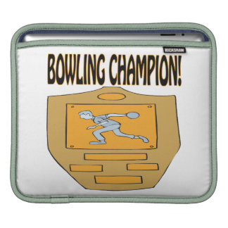 Bowling Champion Sleeve For iPads