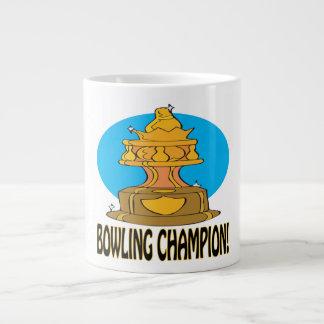 Bowling Champion Large Coffee Mug